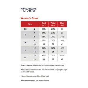 American Living Dresses - NWT American Living Tie Dye Dress
